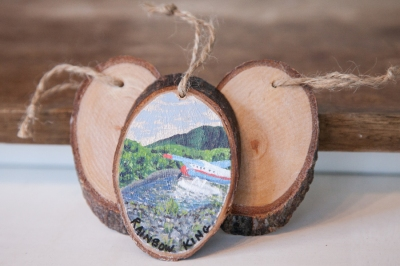 Custom Oval Ornament 3